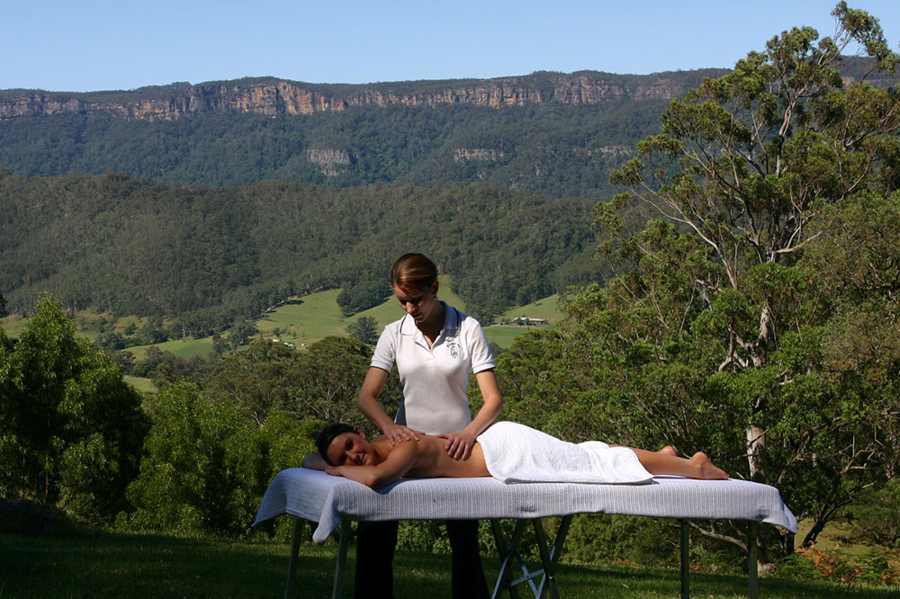 In-house massage, The Heavens Mountain Escape, Kangaroo Valley, Pamper Me
