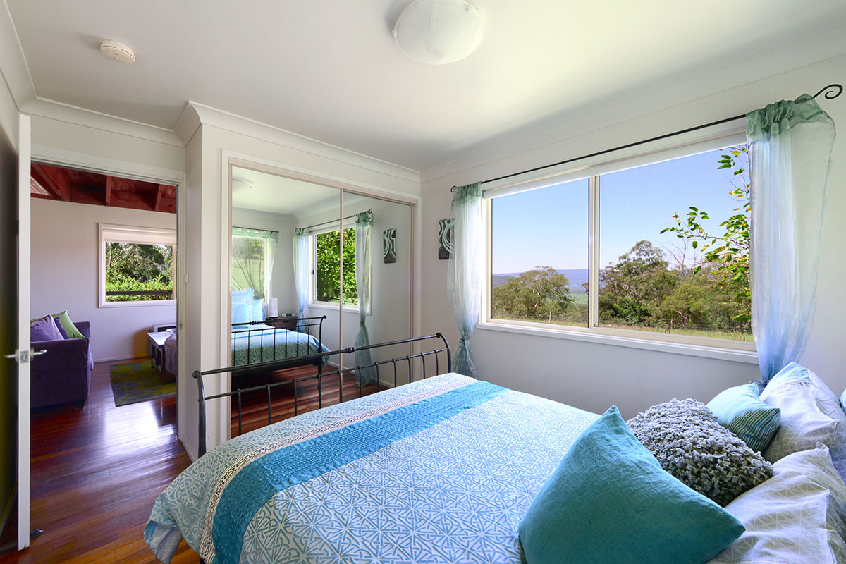 Elysium Cottage Bedroom, The Heavens, Kangaroo Valley