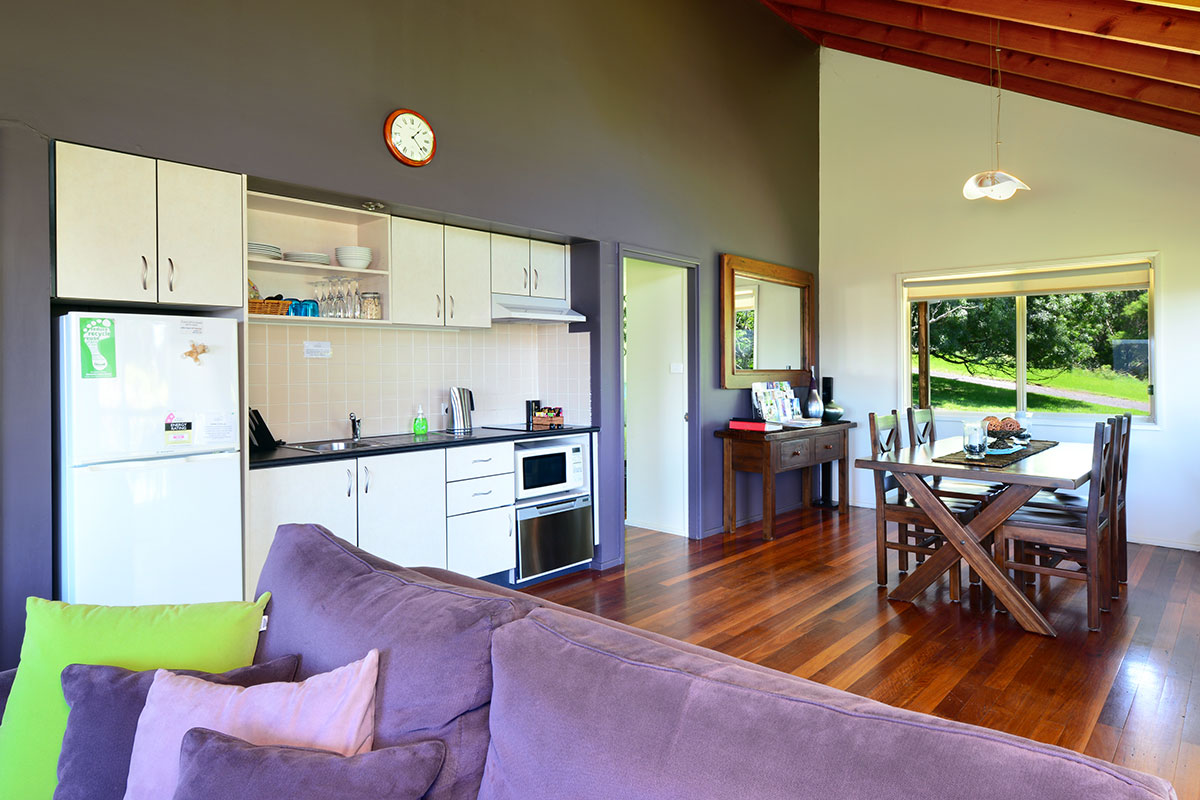 Elysium Cottage Lounge, The Heavens, Kangaroo Valley